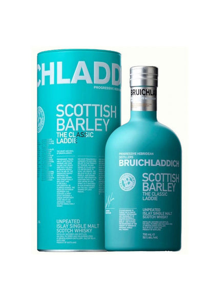 Bruichladdich, The Classic Laddie Scottish Barley Unpeated Islay Single Malt 750mL