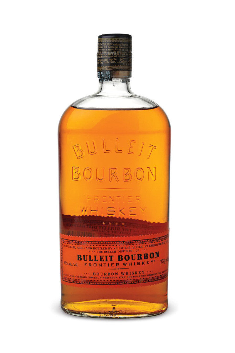 Bulleit Kentucky Straight Bourbon 'Frontier Whiskey' Kentucky 750mL - The Corkery Wine & Spirits