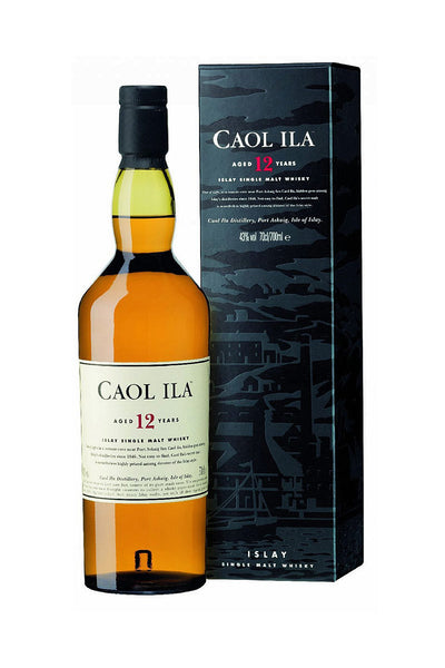 Caol Ila 12 Year Islay Single Scotch 750mL - The Corkery Wine & Spirits