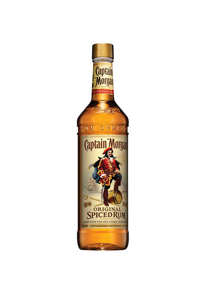 Captain Morgan Original Spiced Rum 1 Liter - The Corkery Wine & Spirits
