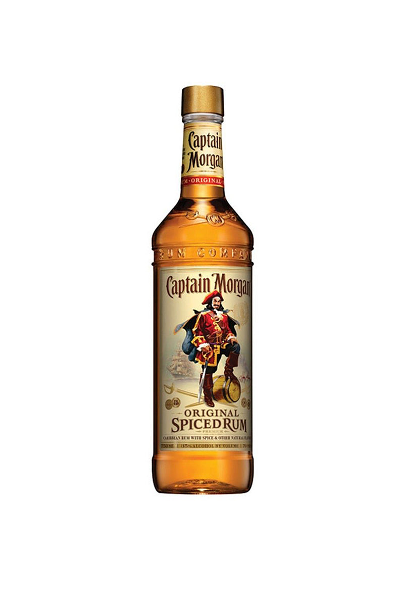 Captain Morgan Original Spiced Rum 750mL - The Corkery Wine & Spirits