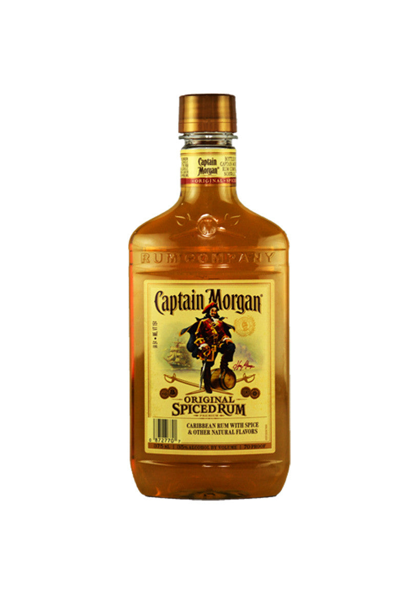 Captain Morgan Original Spiced Rum 375ml - The Corkery Wine & Spirits