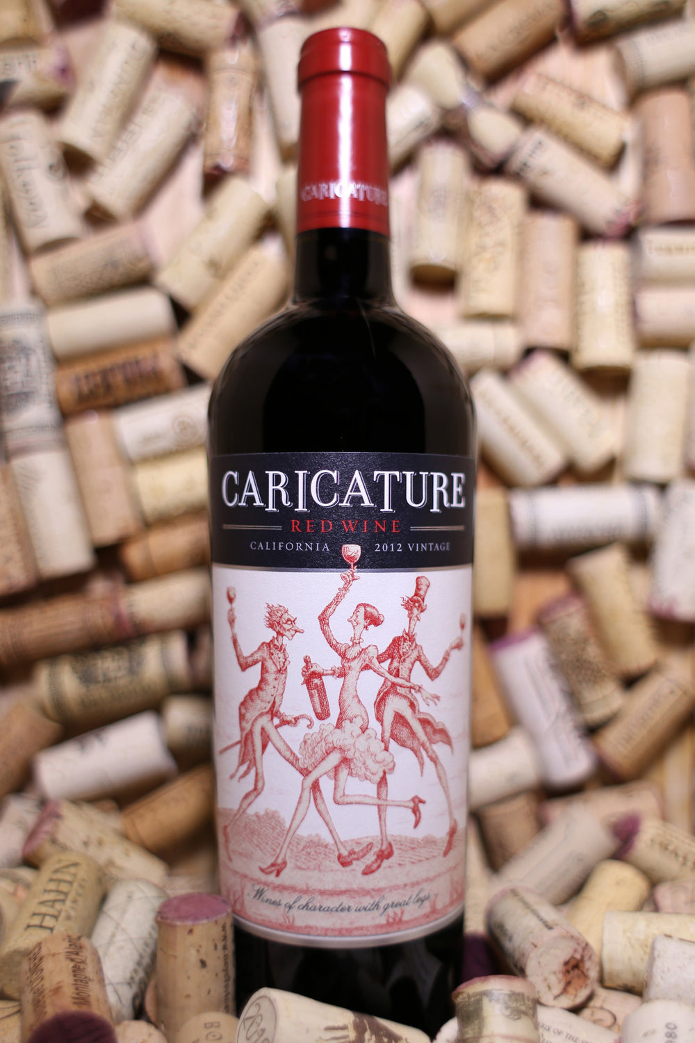 Caricature Red Blend California 2013