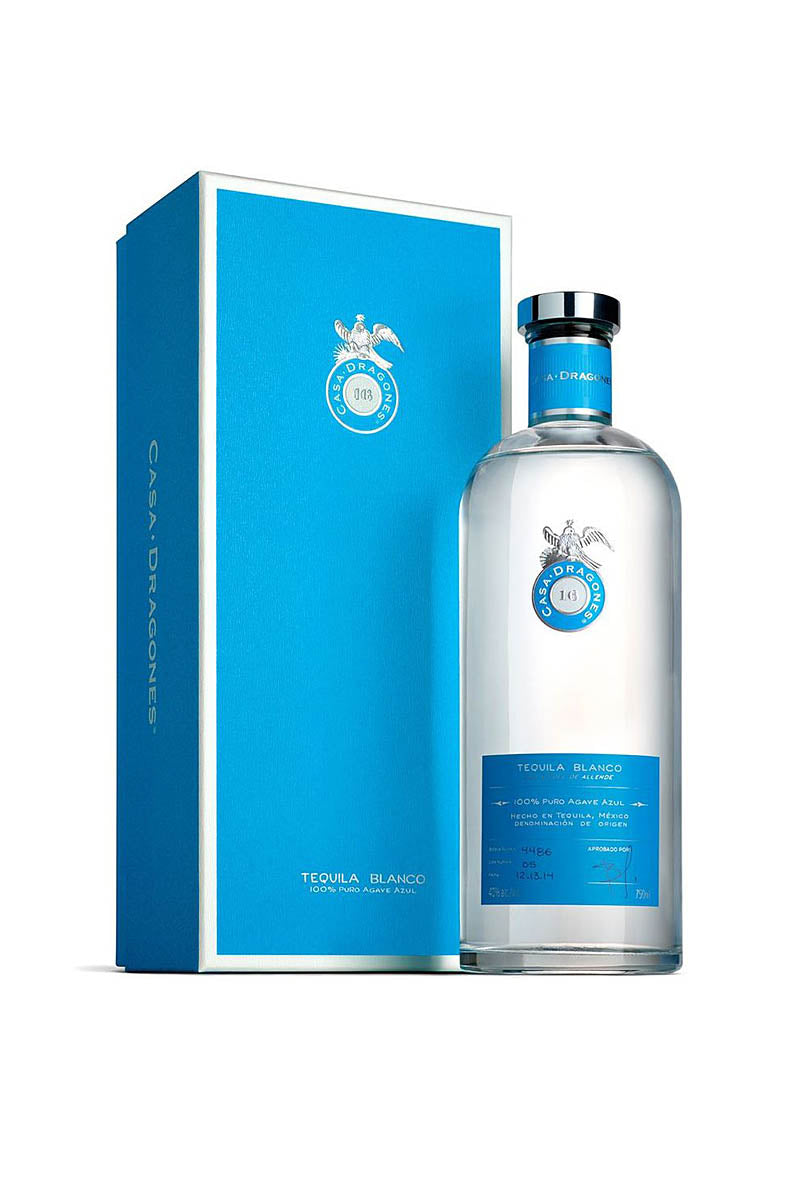Casa Dragones Blanco Tequila, Mexico 750mL