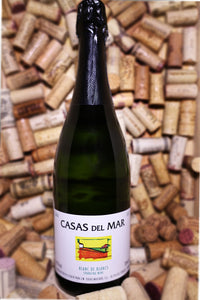 Casas del Mar Blanc de Blanc Cava NV, Spain - The Corkery Wine & Spirits