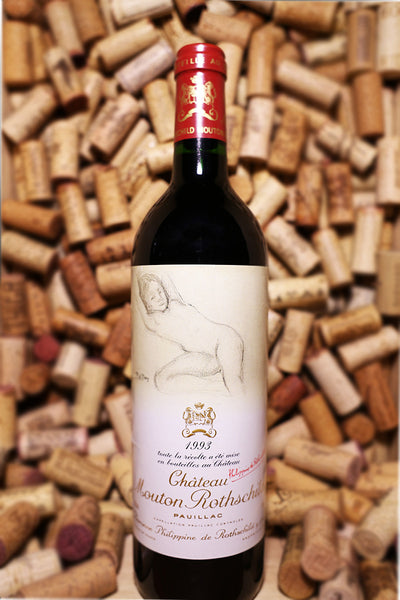 Chateau Mouton Rothschild Pauillac, Medoc, France 1993 - The Corkery Wine & Spirits