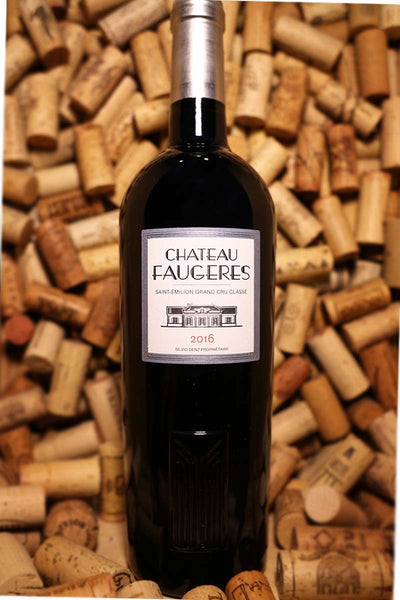 Chateau Faugeres Saint-Emilion Grand Cru Bordeaux, France 2015