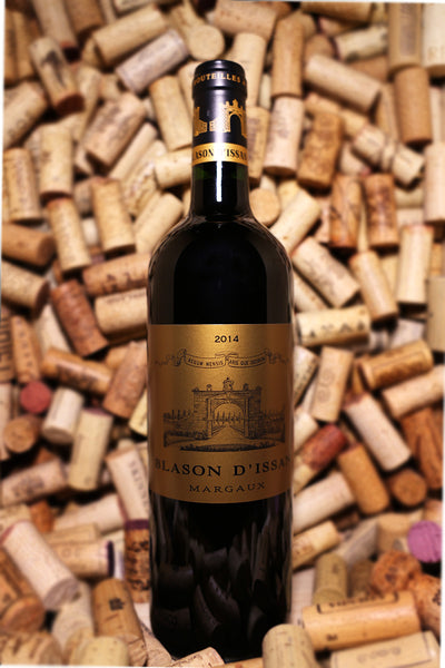 Chateau D'Issan, Blason D'Issan Margaux, France 2014