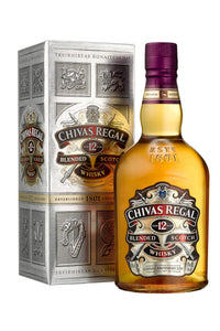 Chivas Regal 12 Year Blended Scotch Whisky 750mL - The Corkery Wine & Spirits