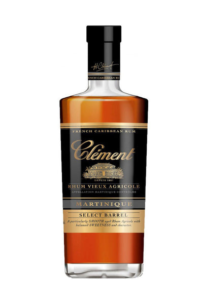 Rhum Clement Select Barrel Rum Martinique - The Corkery Wine & Spirits