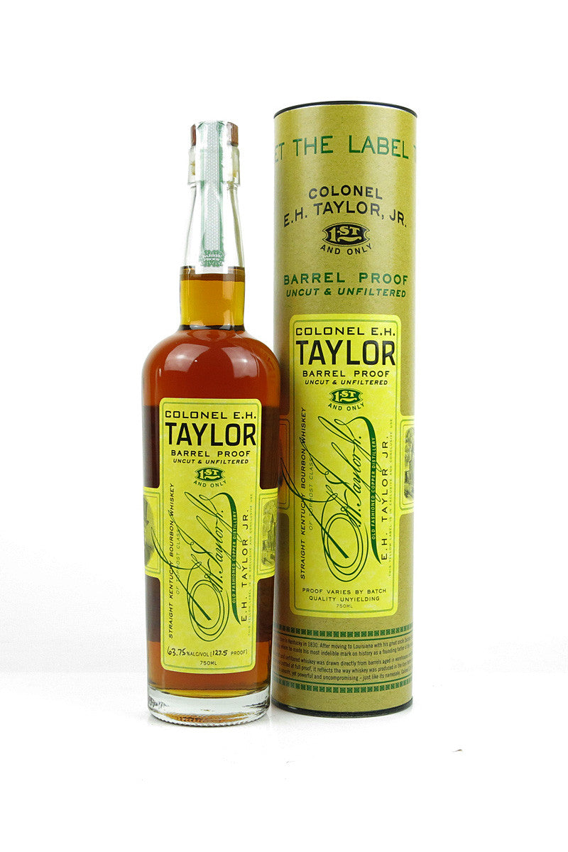 Colonel E.H. Taylor Barrel Proof Bourbon, Uncut & Unfiltered, 64.05% Alc/Vol, Kentucky 750mL - The Corkery Wine & Spirits