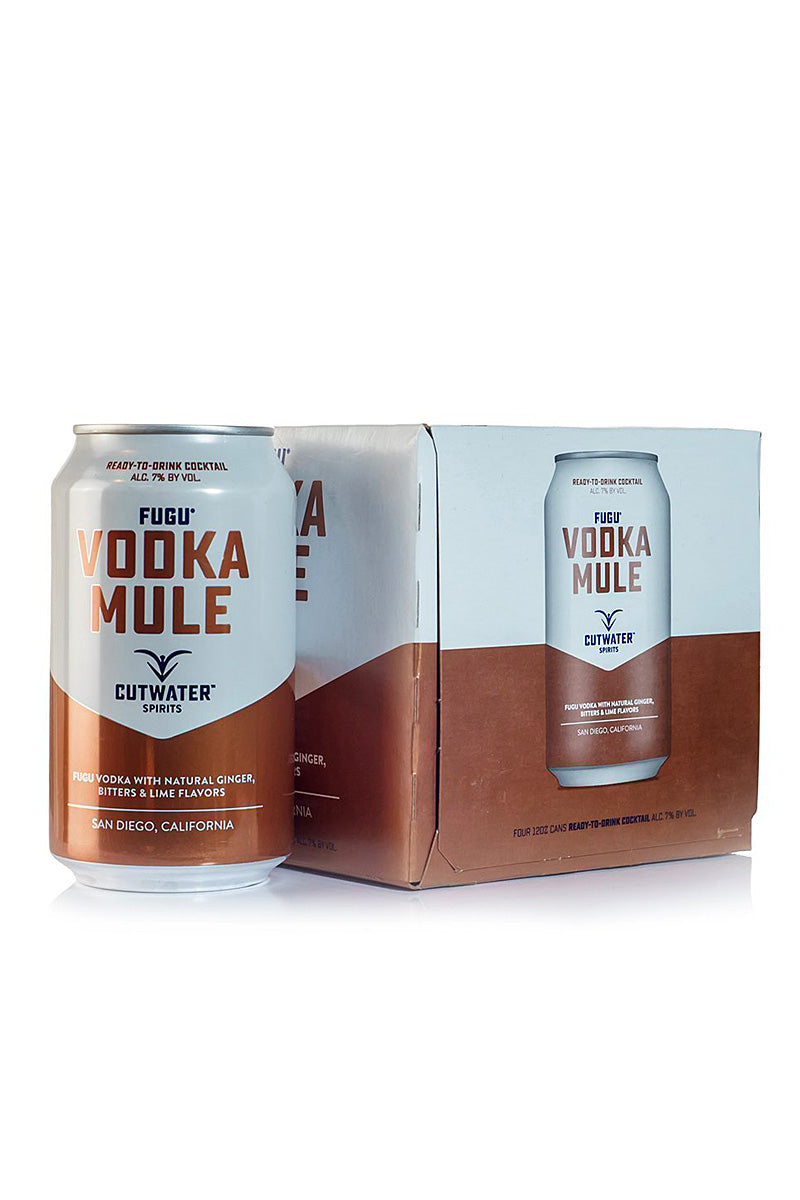 Cutwater Spirits, Vodka Mule, San Diego, CA (12oz Can)