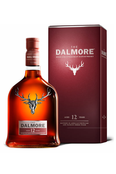 Dalmore 12 Years Highland Single Malt Whisky 750mL - The Corkery Wine & Spirits
