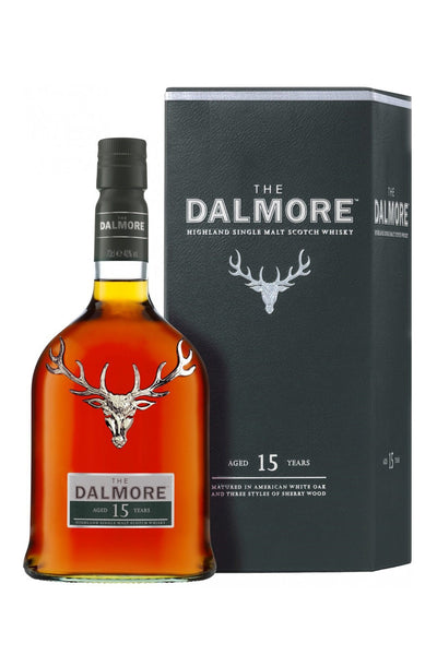 Dalmore 15 Years Highland Single Malt Whisky 750mL