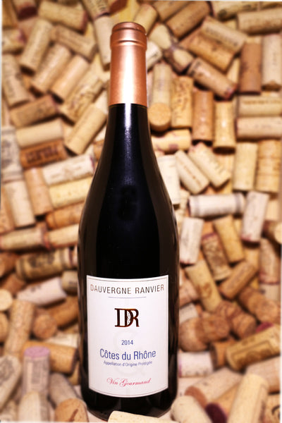 Dauvergne Ranvier Cotes du Rhone Rouge Vin Gourmand, France 2014 - The Corkery Wine & Spirits