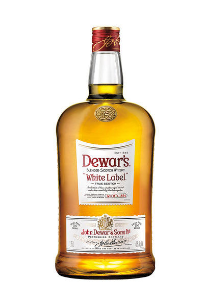 Dewars White Label Blended Scotch 1.75L