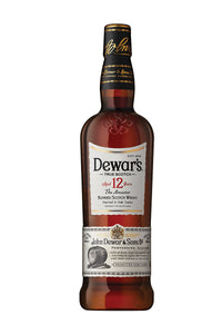 Dewar's Scotch 12 Year The Ancestor, Blended Scotch 1 Liter - The Corkery Wine & Spirits