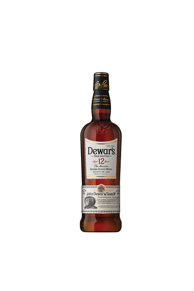 Dewar's Scotch 12 Year The Ancestor, Blended Scotch 375mL - The Corkery Wine & Spirits