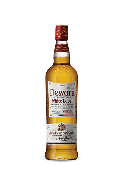 Dewars White Label Blended Scotch 750mL