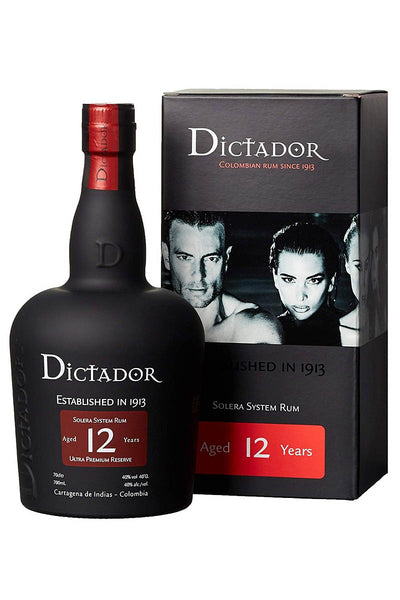 Dictador 12 Year Solera System Rum, Colombia 750mL