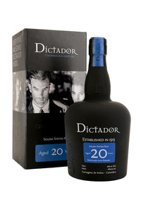 Dictador 20 Year Solera System Rum, Colombia 750mL