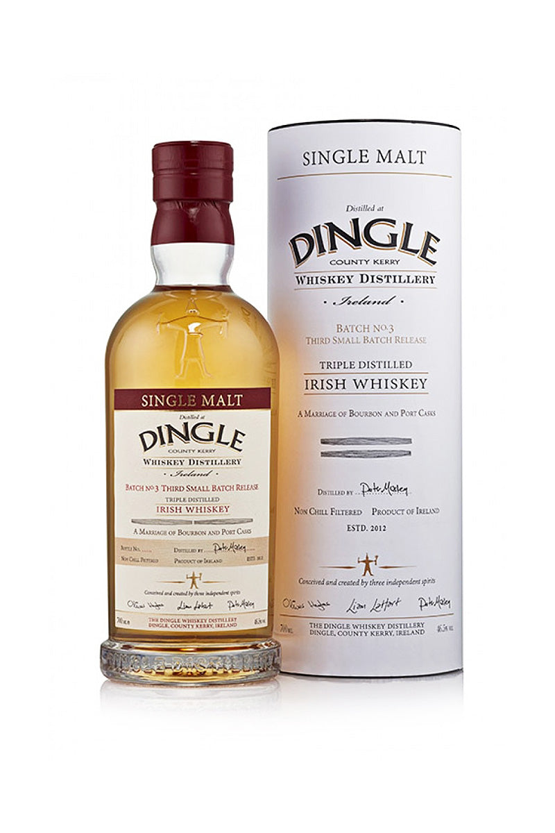 Dingle Whiskey Batch No. 3, Ireland 750 mL