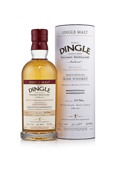 Dingle Single Malt Whiskey Batch No. 4, Ireland 750 mL