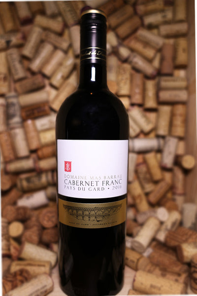 Domaine Mas Barrau, Vin de Pays du Gard Cabernet Franc, France 2016 - The Corkery Wine & Spirits