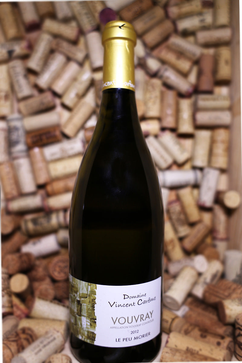Domaine Vincent Careme Vouvray Le Peu Morier Loire France 2012 - The Corkery Wine & Spirits