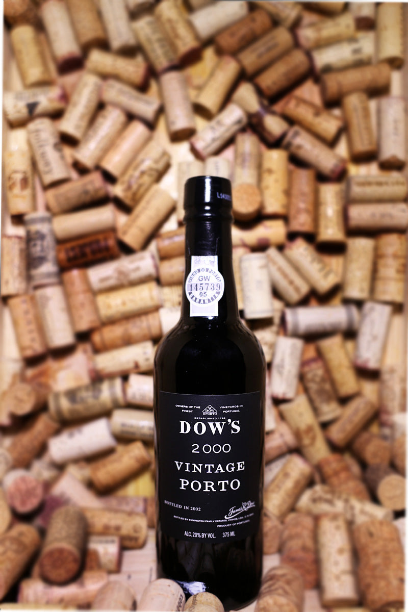 Dow's Vintage Port 2000 Douro, Portugal 375mL