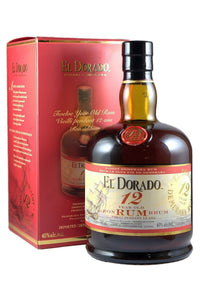 El Dorado 12 Year Old Rum Guyana, 750mL - The Corkery Wine & Spirits