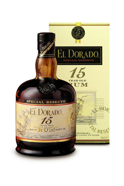 El Dorado Special Reserve Rum 15 Year, Guyana 750mL - The Corkery Wine & Spirits