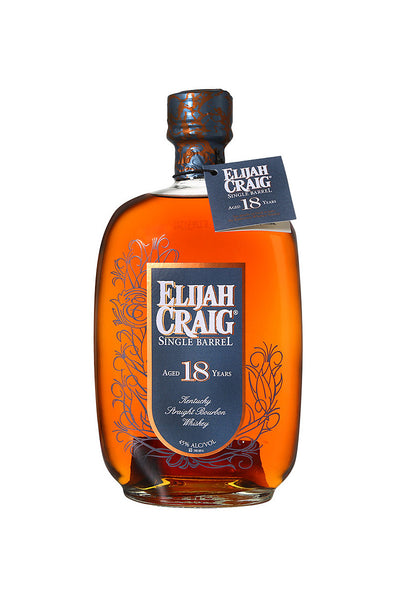 Elijah Craig Single Barrel 18 Year Old, Kentucky Straight Bourbon