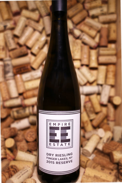 Empire Estate Dry Riesling Reserve, Finger Lakes, NY 2015 - The Corkery Wine & Spirits
