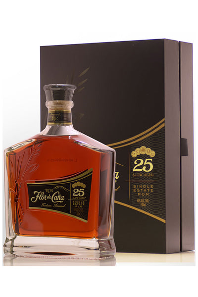 Flor de Cana Rum Centenario 25 Year Slow Aged, Nicaragua 750mL - The Corkery Wine & Spirits