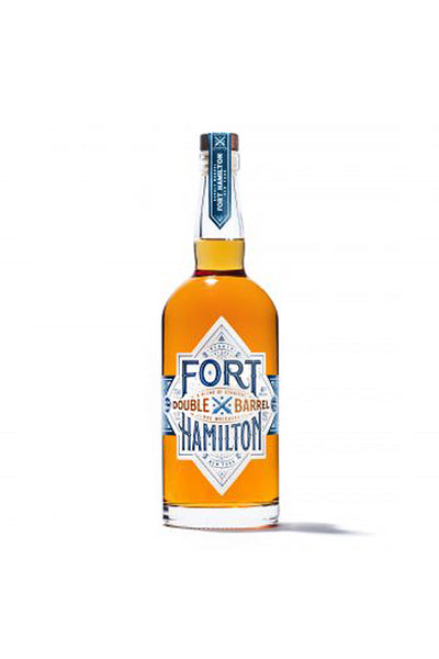 Fort Hamilton Double Barrel Rye Whiskey, New York 750mL