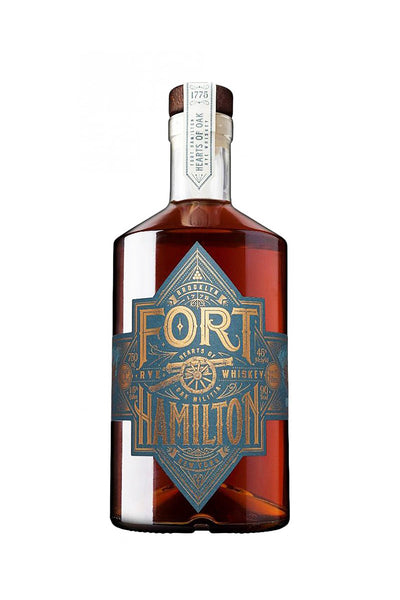 Fort Hamilton Single Barrel Rye Whiskey, New York 750mL
