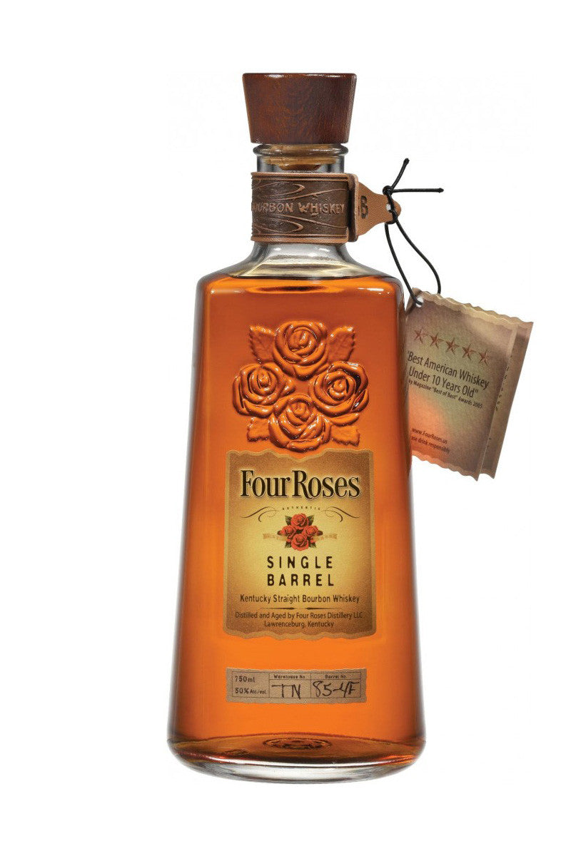 Four Roses Single Barrel Bourbon, Kentucky, 100 Proof, 750 mL - The Corkery Wine & Spirits