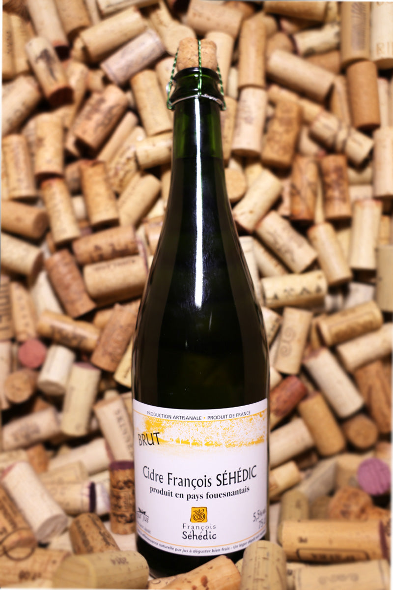 Francois Sehedic Brut Apple Cider, Brittany, France NV