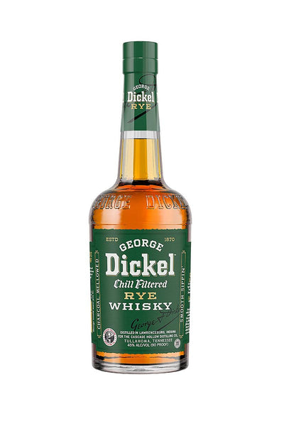 George Dickel Rye Whisky Tennessee 750mL