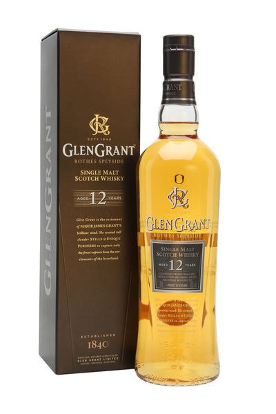 Glen Grant Scotch Single Malt 12 Year