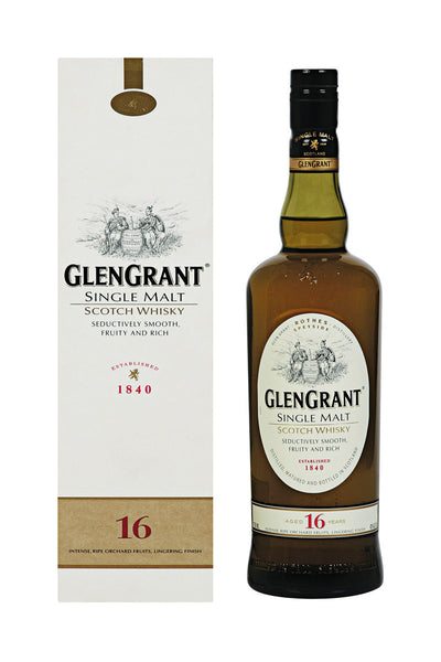 Glen Grant 16 Year Old Speyside Scotch