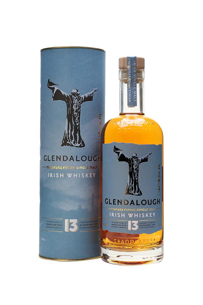 Glendalough 13 Year Old Single Malt Irish Whiskey  750mL