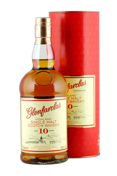 Glenfarclas Speyside Single Malt Scotch 10 Year 750mL - The Corkery Wine & Spirits