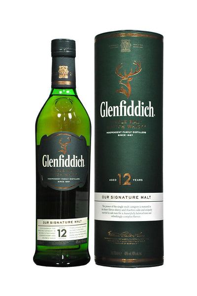 Glenfiddich 12 Yr. Single Malt Scotch, Speyside, Scotland 750mL - The Corkery Wine & Spirits