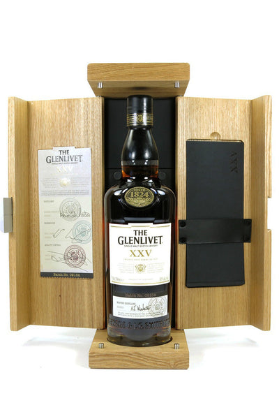 Glenlivet 25 Single Malt Scotch