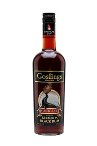 Goslings Black Seal Rum, Bermuda - The Corkery Wine & Spirits