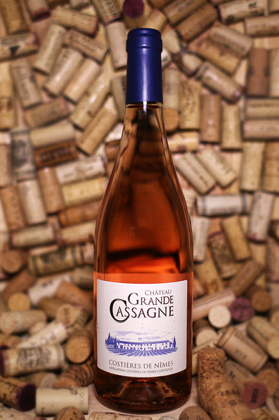 Chateau Grande Cassagne Rose, Rhône Valley, France 2016