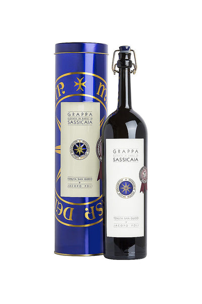 Jacopo Poli Grappa di Sassicaia, Veneto, Italy 375mL - The Corkery Wine & Spirits