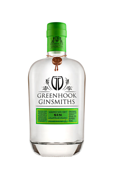 Greenhook Ginsmiths American Dry Gin, Brooklyn, NY 750mL - The Corkery Wine & Spirits